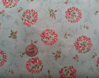 Mrs. March's Classic Flower Lecien Fabric, by the yard L65U