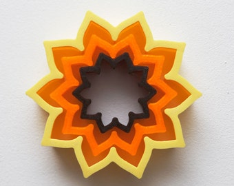 Sunflower Cookie Cutter from The Haven (3-cutter set)