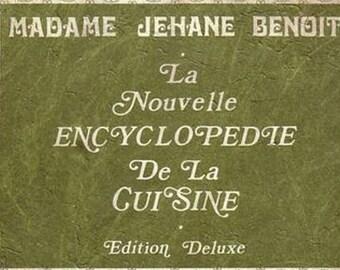 Madame Jehane Benoit La Nouvelle Encyclopedia De La Cuisine Cookbook 1970 French Canadian Cooking