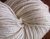 DK Targhee Undyed Yarn 3 Ply Natural Ecru Undyed Yarn Blank Made in USA