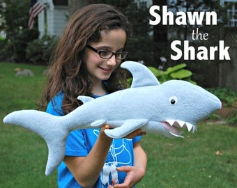 Shawn the Shark PDF Sewing Pattern - Perfect for Your Little Pirate