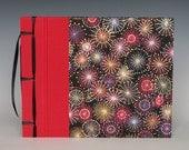 Handmade Photo Album: Fireworks small