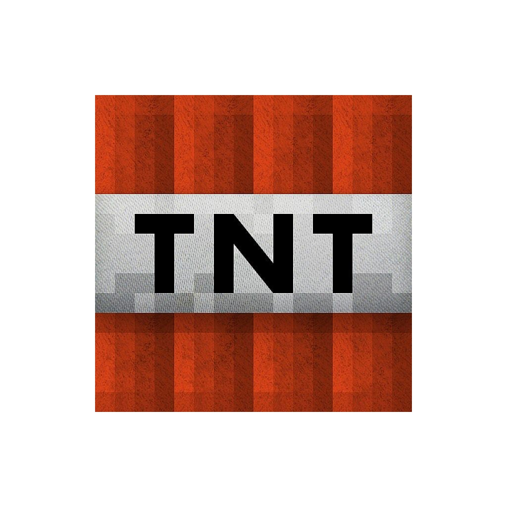 Printable Minecraft Tnt Block
