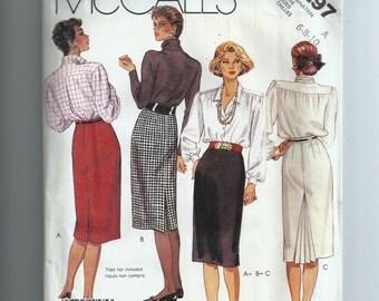 McCall's Misses' Skirt  Pattern 3297