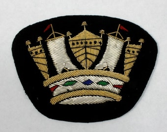 85mm Royal Crown Patch #1266