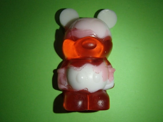 Candy Cane Cartoon Mouse Glycerin Soap