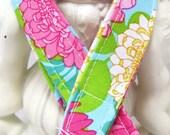 Lanyard, Badge Holder, ID Holder, Breakaway Lanyard, Fabric Lanyard, Employee Lanyard, Teacher Lanyard,Palm Beach Floral