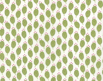 SALE - Color Me Happy - Sprouts in Lime Green: sku 10822-15 cotton quilting fabric by V and Co. for Moda Fabrics - 1 yard