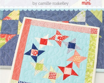 MINI Round and Round quilt pattern from Thimble Blossoms
