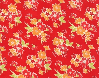 SALE - Miss Kate - Spring in Red: sku 55091-11 cotton quilting fabric by Bonnie and Camille for Moda Fabrics - 1 yard