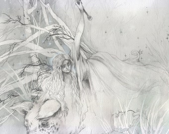Wild Hunt - Magical / Fantasy Art Print