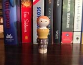Nancy Drew Peg Doll