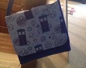 Dr Who tardis messenger bag