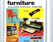 Mid-Century DIY Furniture Instruction Book Build Your Own Modern Furniture 1954 RESERVED
