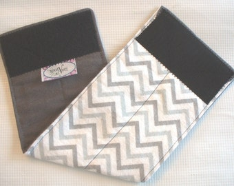 Custom Sized Male Dog Belly Band Wrap Diapers Bands GRAY CHEVRON