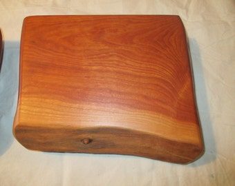 Footed Cherry Serving Platter/ Chopping Block / Cutting Board with Walnut Feet/Cutting Board/ Hostess Gift/Chefs Board