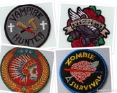 Patches for Bad Ass Survivors FOUR CHOICES!!