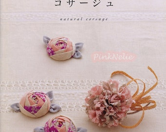 Cute Corsage Japanese Craft Book**