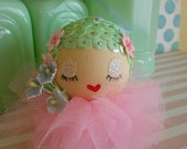 Jadeite Betsy Ornament Pink Tutu