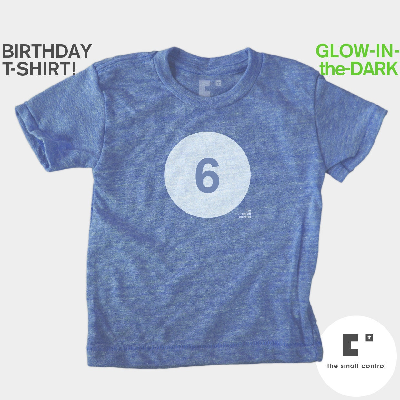 Birthday Shirt Boy 6 Boys Birthday Shirt Sixth 6th Kids