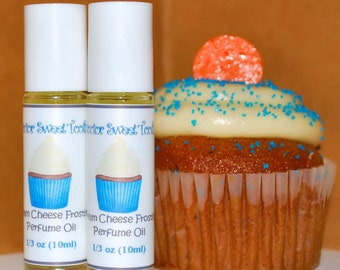 Cream Cheese Frosting Handmade Perfume Oil Roll-On