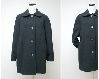 WINTER TIME wool coat . size 10P
