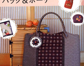 Useful Bags and Pouches All Color Pages - Japanese Craft Book