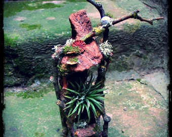 Faery Throne Chair in Natural Materials