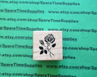 PSX-B007 Rose - Mounted Rubber Stamp
