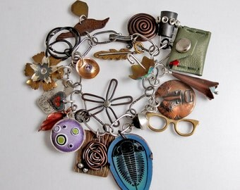 EtsyMetal Charm Swap 12 Bracelet