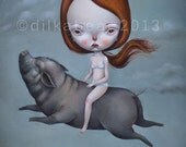 MARGY limited edition print 12/35