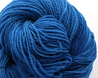 Mohonk Hand Dyed sport weight NYS Wool 370 yds 4oz Cobalt