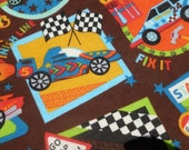 Race Cars Baby Blanket