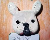 Custom pet face magnet