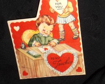 1950's Teacher Valentine