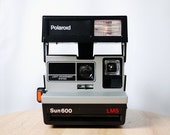 Polaroid Sun 600 LMS Instant Camera (Battery Tested)