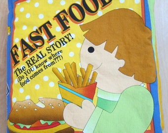 Food Fabric Book