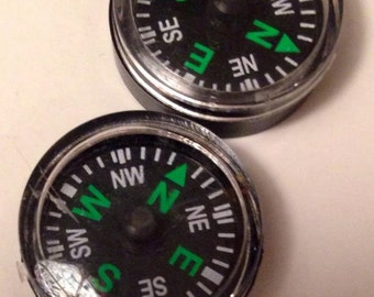 18mm small compass jewelry finding steampunk supplies  DRW1