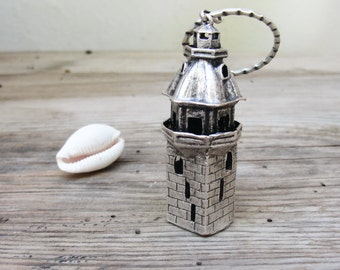 Lighthouse Keychain Tower of Leandros Keychain / Bag adornment