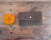 SALE - Chocolate Brown Harvest Pouch