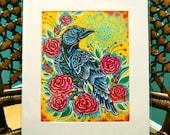 "Crow- 8""x10"" Print"