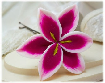 Stargazer Lily Hair Clip Pin - More Colors Available