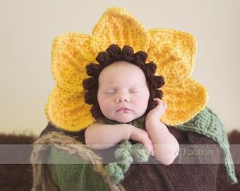 Crochet flower bonnet  , baby girl hat , Newborn Photography Prop cuddle baby cape Custom baby gifts
