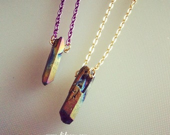 MONO RAINBOW CRYSTAL necklace