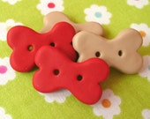 Dog Bone Buttons (for Jean788)