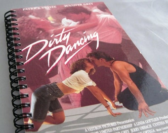 Dirty Dancing Notebook - Spiral Bound VHS Notebook - Ready to Ship