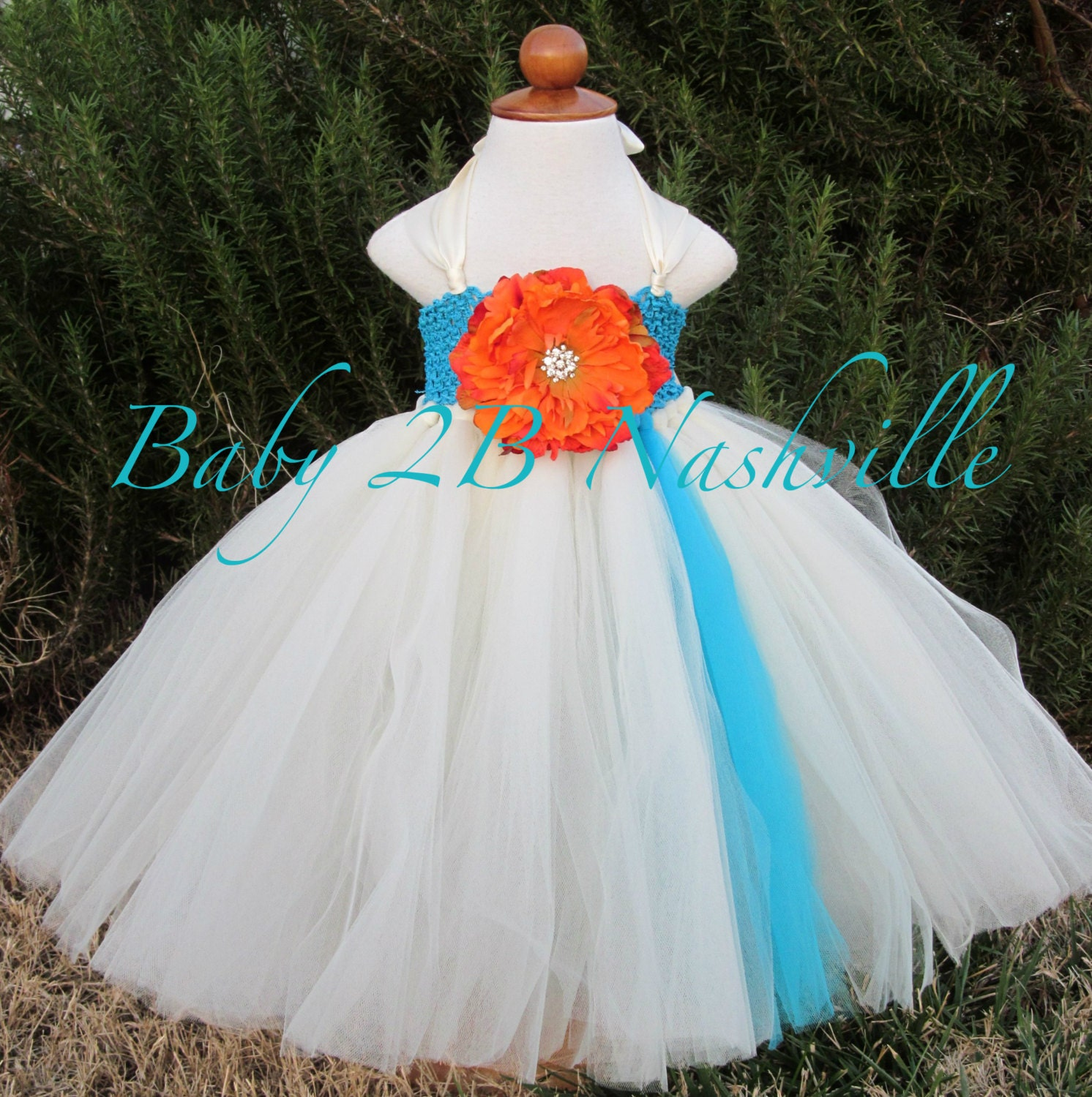 Beach flower girl dress wedding flower girl dress in for Flower girl dress for beach wedding