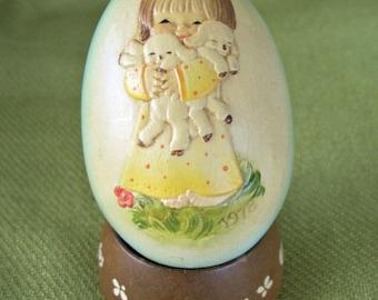 Vintage 1978 Ferrandiz Easter Egg