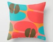pillow cover - Modern pillow cover - Couch pillow - Scandinavian Decorative pillow - Colorful pillow