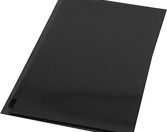 Black Shrinky Plastic Sheets 20 sheets SALE 20% OFF